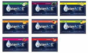 8 Waterade powdered soft fruit drinks sugar & gluten FREE with vitamins C+A,D,E