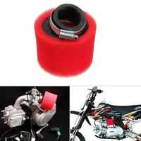 Red 38 40mm Foam Air Filter For ATV Quad Pit Dirt Bike 90cc 110cc 125cc 4-stroke