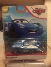 Disney Pixar Cars 3 Cam Spinner Next Gen Triple Dent Mattel 1.55 Scale BNIB