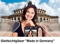 "2 Kunststoff-Gleitsichtgläser PREMIUM 1,6 Hart-SET FREE-FORM ""Made in Germany"""
