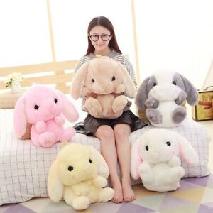 19'' Lolita Bunny Rabbit Shoulder Bag Backpack Plush Toy Cartoon Soft Doll Gift