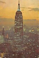 BR30731 Empire State Building at sunset New york City United States