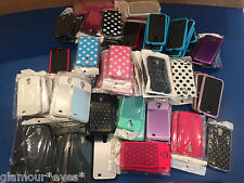 Assorted SAMSUNG S4 CASE Cell Mobile phone Holder Color CRYSTAL Wholesale Lot