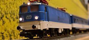 ☆SELTEN☆ MÄRKLIN H0 3037 # České dráhy # E41024  DIGITAL + 3 WAGEN PAINTED EVP