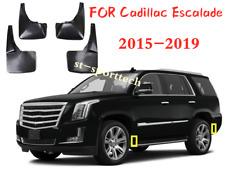 Mud Flap Flaps Splash Guards Mudguards 4PCS Fits Cadillac Escalade 2015-2019