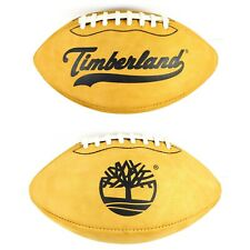 Very Rare Timberland Brand Wheat Suede Leather Promotional Football