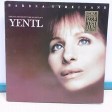 "33T Barbra STREISAND Vinyl LP 12"" Original Motion Picture Soundtrack YENTL Oscar"