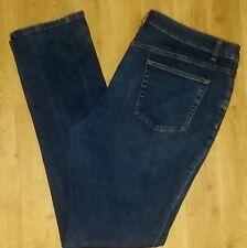 COLDWATER CREEK Sz 18L Long Women's Slacks Pants Denim Jeans!