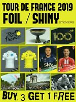 PANINI TOUR DE FRANCE 2019 SHINY FOIL STICKERS - COMPLETE YOUR ALBUM - CYCLING