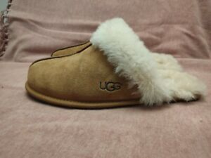 Ladies Ugg Scufette Slippers, Classic Chestnut Colour, UK Size 7