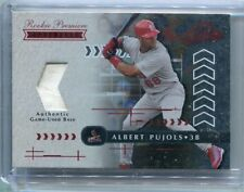 2001 Playoff Absolute Memorabilia #157 Albert Pujols Rookie Card Game Used  /700