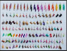 LOT 5 PAIRES DE BIJOUX GOURMANDS FIMO BOUCLES D'OREILLE funny earring
