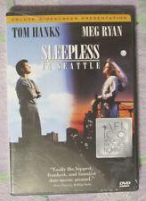 Sleepless in Seattle (DVD, 1993,  Deluxe Widescreen) Tom Hanks Meg Ryan NEW