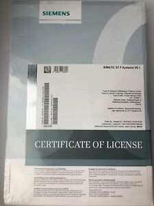 SIMATIC S7, software F Systems V6.1 6ES7833-1CC02-0YA5