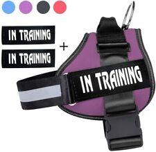Emotional Dog Vest Harness Adjustable Patches Reflective Collar Szie XXL XL L M