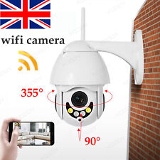 New 1080P WIFI IP Camera Wireless Outdoor CCTV HD PTZ Smart Home Security IR Cam