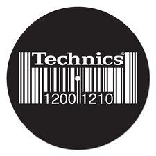 Slipmats Technics DMC 1200 1210 Barcode (1 pièce / 1 pièce) mbar1 NOUVEAU + OVP