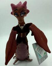 Disney Store Dean Hardscrabble Plush Monsters University 11'' Brown Dragon C