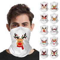 Weihnachten Bandana Gesicht Hals Gamasche Snood Kopfbedeckung Beanie Tube Schal