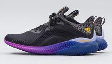 Adidas AlphaBounce Men's sizes US 11 & 12 Brand New - B42351 (Black,Gold,Purple)