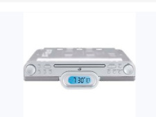 GPX Undercabinet CD RADIO COOKING TIMER CLOCK with REMOTE NEW  KC318S