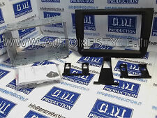 Mascherina Kit 2 Doppio DIN Alfa MiTo NERA 2014 PERFECT FIT non motorizzati