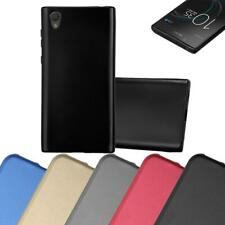 Silicone Case for Sony Xperia L1 Shock Proof Cover Mat Metallic TPU