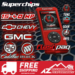 Superchips Flashpaq F5 Programmer 2845 99-13 Chevy GMC Cadillac Buick Gas Engine