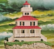 "Lighthouses- ""New Canal Light"" Louisiana #148 -Harbour Lights 1995"