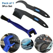 3Pcs Set Motorcycle Bike Bicycle Chain Wheel Cleaning Brush Motorbike  Cleaner
