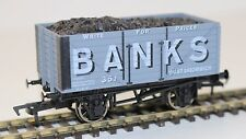 Dapol New R2R OO 1:76 Scale Banks 8 plank coal freight Wagon B863 FNQHobbys