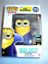 FUNKO POP! VINYL 2015 CONVENTION EXCLUSIVE MINIONS #171 BATTY FIGURE MISB