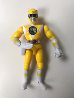Vintage Mighty Morphin Power Rangers Toys Yellow Ranger Action  Figure Toy 1993