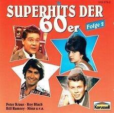 (CD) Superhits der 60er - Folge 2 - Blue Diamonds, Gus Backus, Graham Bonney