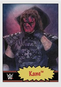 TOPPS WWE LIVING SET CARD KANE #57 ONLINE EXCLUSIVE LIMITED EDITION