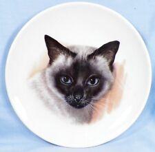 Siamese Cat Decorative Porcelain Plate Schumann Arzberg Bavaria EX