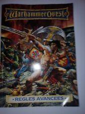 Livre WARHAMMER QUEST - REGLES AVANCEES 1995 COLLECTOR