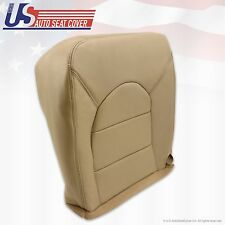 2000 Ford F250 F350 Lariat Driver Bottom Replacement Vinyl Seat Cover Tan