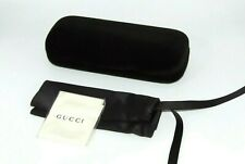 Gucci Sunglasses Eyeglasses Small Set Black Velvet Case Cloth Pouch