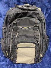 "Targus CityGear Backpack 17"" Laptop - Black/Yellow"