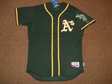 Oakland Athletics Green Cool Base Authentic Jersey sz 48 Majestic New w/ tags