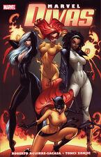 MARVEL DIVAS TPB (Marvel Divas #1-4) J Scott Campbell Black Cat Hellcat *New/NM*