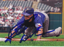 BRAD WILKERSON TEXAS RANGERS SIGNED BASEBALL CARD MARINERS BLUE JAYS NATIONALS