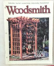 Woodsmith Woodworking Magazine Vol.19 #111 Garden Arbor Grinder Step Stool 1997