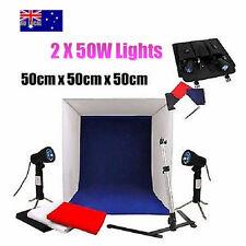 50cm Tent Photography Soft Box Tent Light Cube Photo Studio Softbox Lighting Set