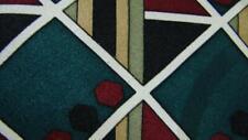 MARTIN WONG SCREENPLAY DARK GREEN RED DIAMOND SILK NECKTIE TIE MJL3019B #Y27
