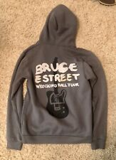 BRUCE SPRINGSTEEN Wrecking Ball CONCERT TOUR HOODIE HOODED SWEATSHIRT SHIRT Sz M