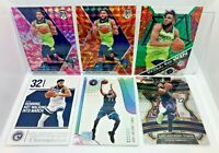 Karl-Anthony Towns 6 Card Lot 2019-20 Mosaic Pink Camo Orange Green Prizm & ETC