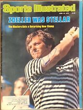Fuzzy Zoeller Signed Sports Illustrated SI 4/23/79 PGA Golf The Masters