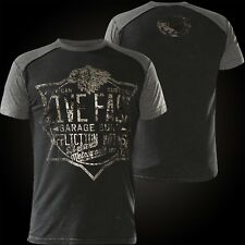 Affliction t-shirt Speed Metalworks negro/gris t-shirts